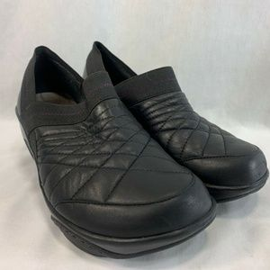 J-41 Jeep Clogs Shoes Leather Quilted